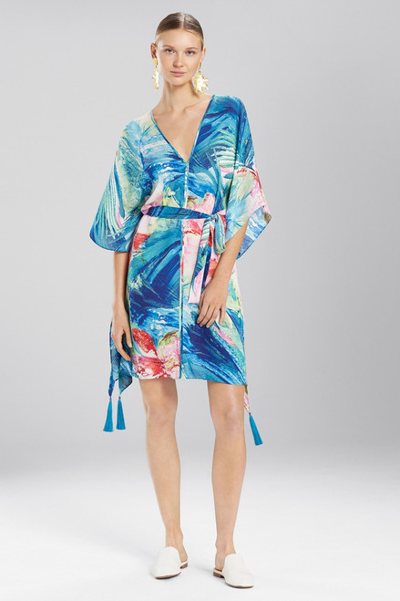 Buy Josie Natori Paradise Palms Belted Caftan from