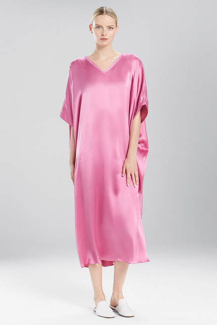 Buy Josie Natori Key Essentials Caftan With Novelty Trim from