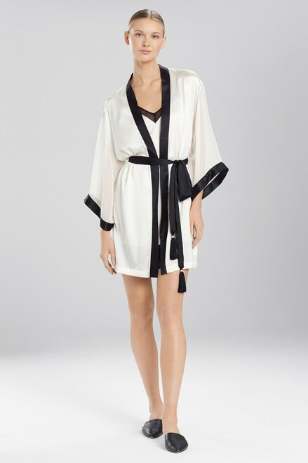Buy Josie Natori Sleek Wrap With Chiffon from