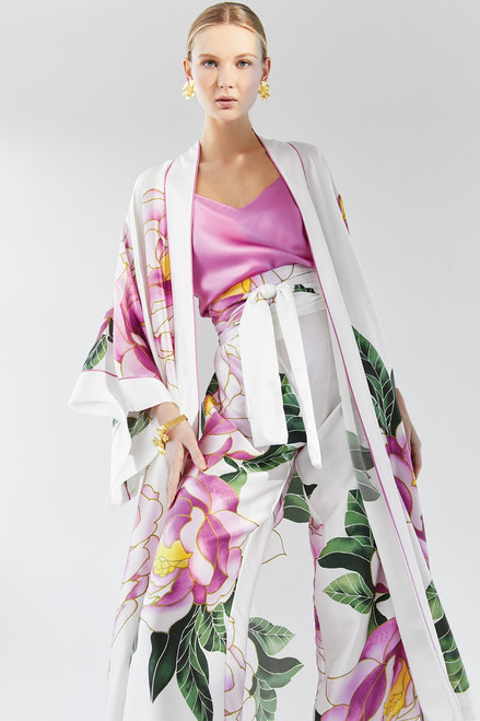 Josie Natori Clair de Lune Robe at The Natori Company