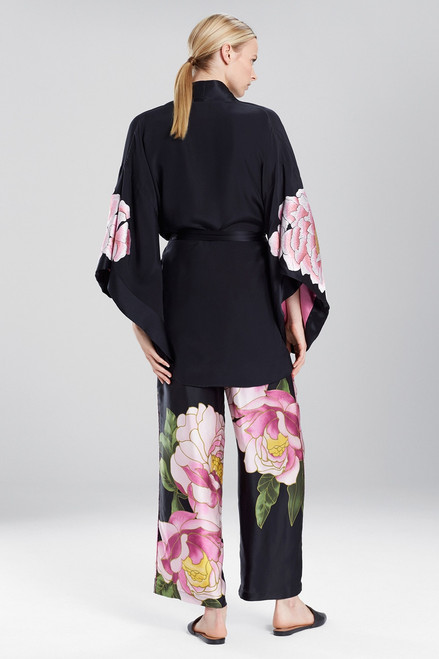 Josie Natori Radiant Peony Robe at The Natori Company
