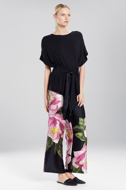 Buy Josie Natori Fuji Tie Waist Top from