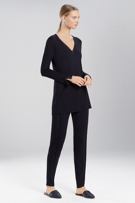 Buy Josie Natori Fuji Long Sleeve Top from