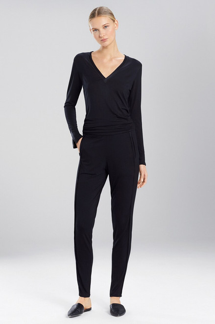 Buy Josie Natori Fuji Pants With Silk Trim from