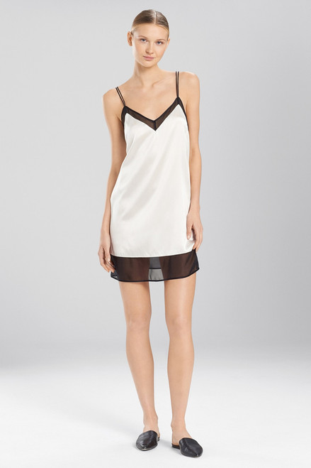 Josie Natori Sleek Chemise at The Natori Company
