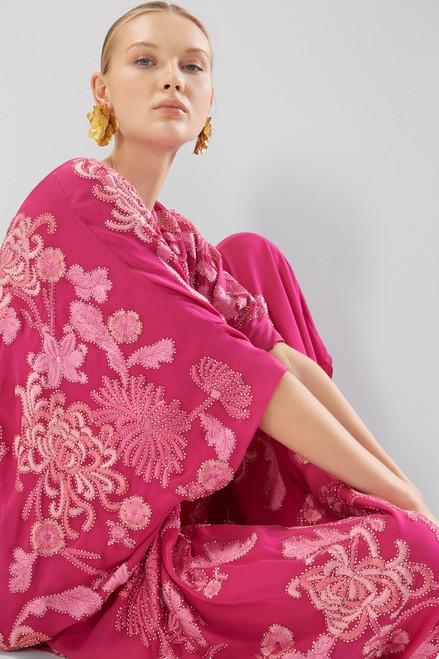 Josie Natori Couture Lavish Garden Caftan at The Natori Company