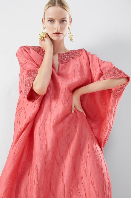 Josie Natori Couture Luster Caftan at The Natori Company
