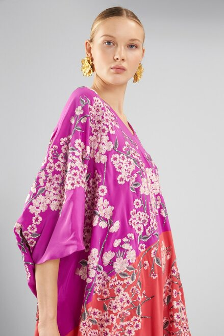 Josie Natori Couture Hana Caftan at The Natori Company