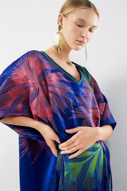 Josie Natori Couture Calypso Caftan at The Natori Company
