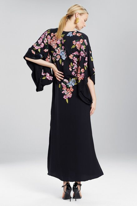 Josie Natori Couture Hanami Caftan at The Natori Company