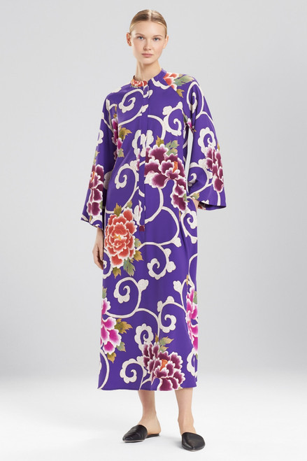 Natori Samarkand Zip Caftan at The Natori Company