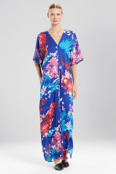 Natori Fiji Print Caftan at The Natori Company