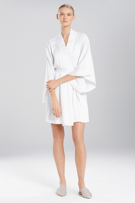 Buy Natori Deco Feathers Satin Robe from