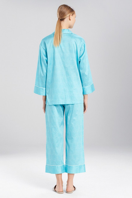 Natori Fan Notch PJ Set at The Natori Company