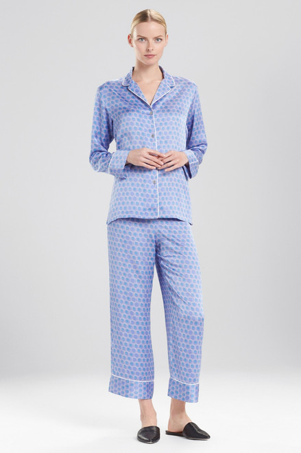 Buy Natori Honeycomb Feathers Satin PJ from