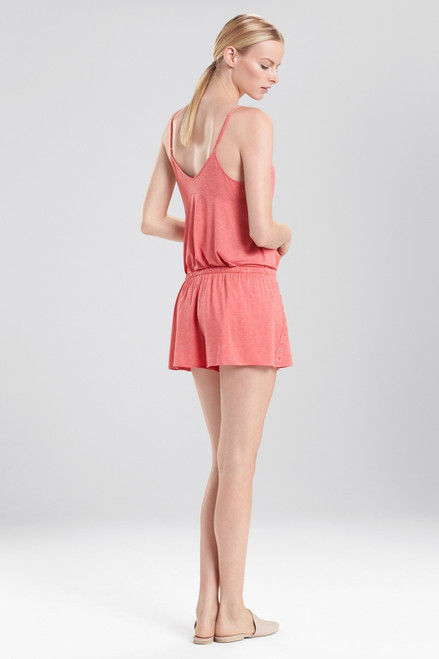 Natori Feather Essentials Shorts With Lace at The Natori Company