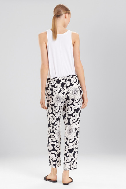 Natori Silk Road Pants at The Natori Company