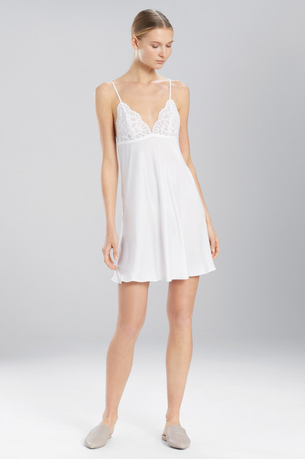 Buy Natori Deco Feathers Satin Chemise from