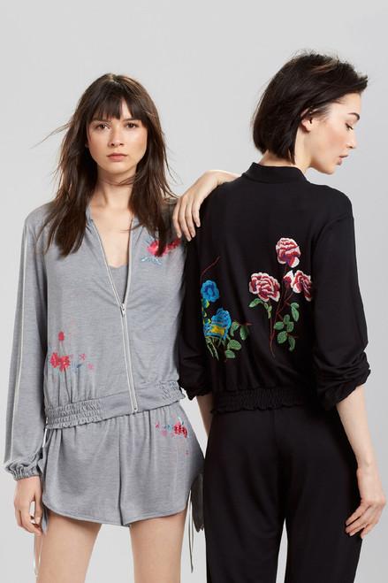 Josie Heathers Boho Embroidery Romper at The Natori Company