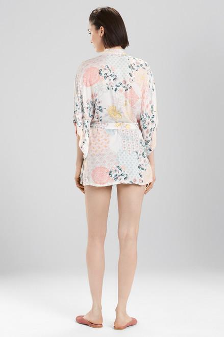 Josie Avant Garden Wrap White/Pink at The Natori Company