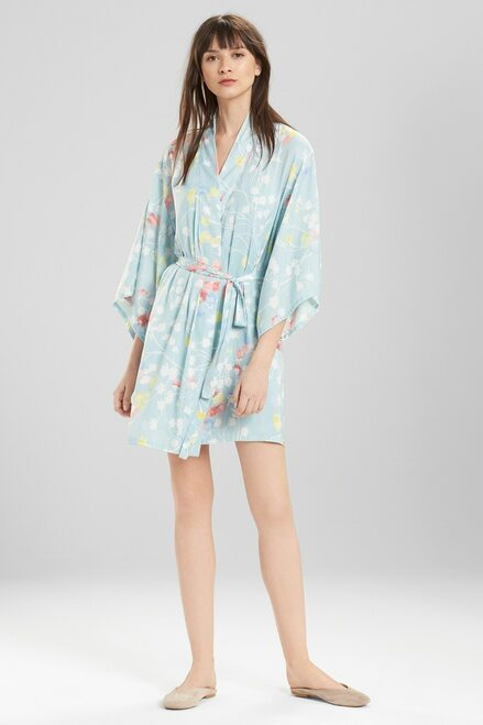 Josie Bardot Dreamland Robe Seaglass Rose at The Natori Company