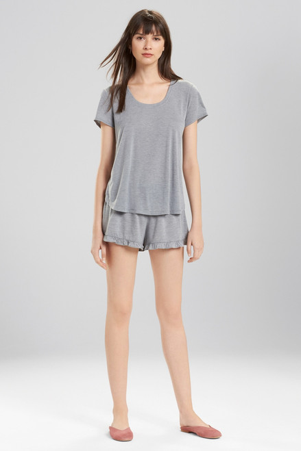 Josie Heathers Short Sleeve Top at The Natori Company