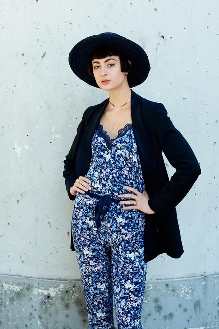 Josie Bardot Sunkissed Cami Navy/Blue at The Natori Company