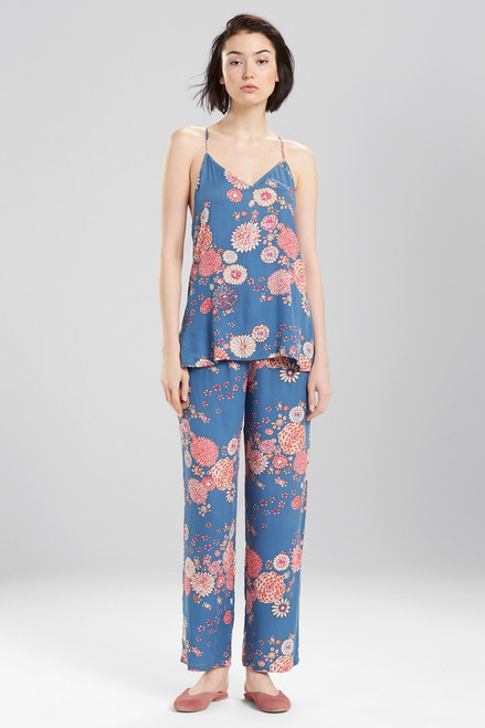 Josie Avant Garden PJ Blue Ivory at The Natori Company