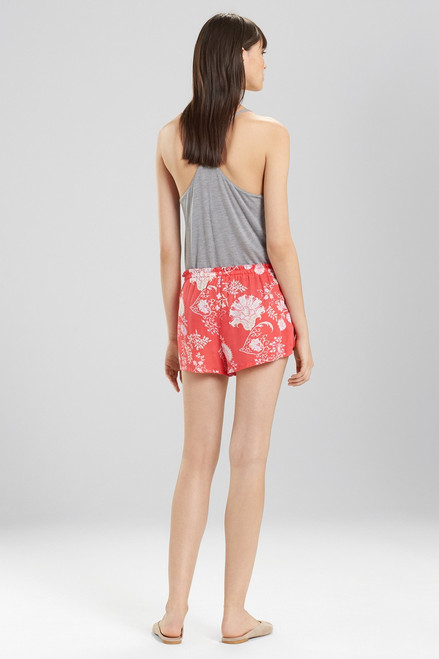 Josie Avant Garden Shorts Tropcial Pink at The Natori Company