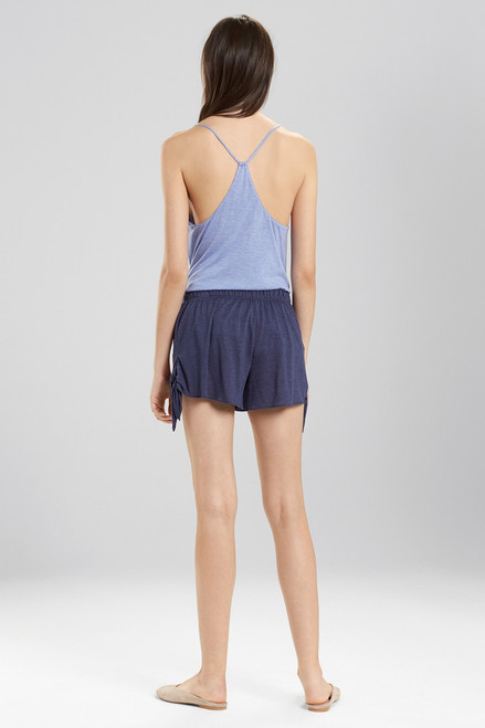 Josie Heathers Embroidered Shorts at The Natori Company