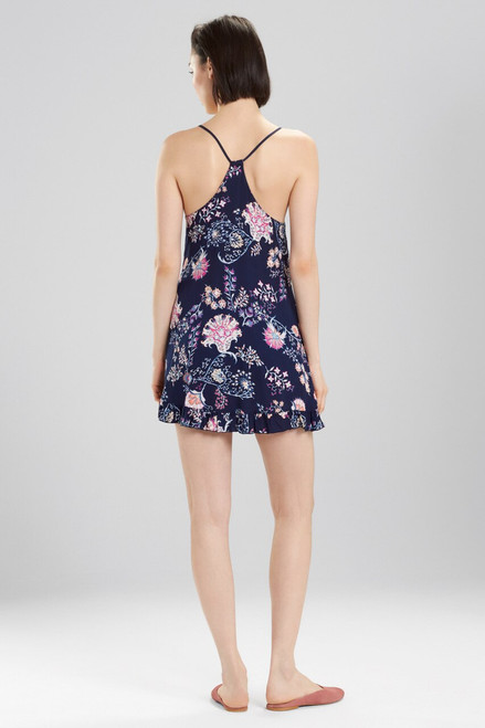 Josie Avant Garden Chemise Midnight Navy at The Natori Company