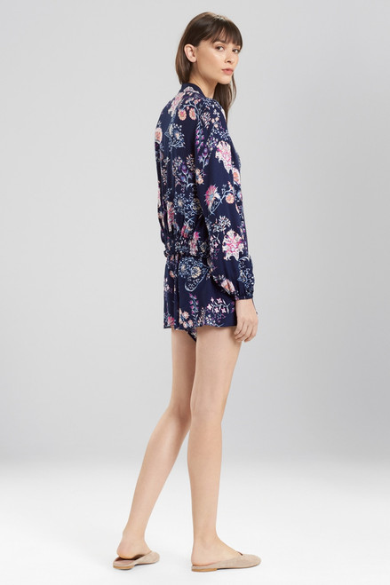 Josie Avant Garden Bomber Jacket at The Natori Company