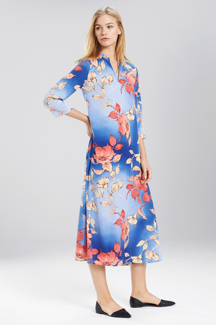 Buy N Natori Ombre Floral Caftan from
