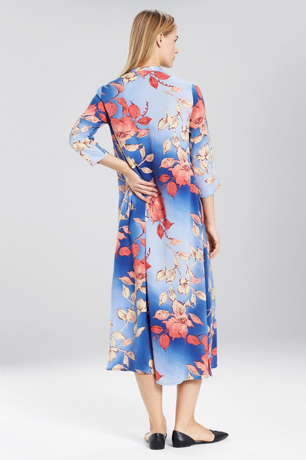 N Natori Ombre Floral Caftan at The Natori Company