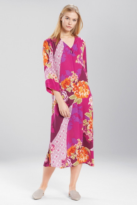 Buy N Natori Samoa Zip Caftan from