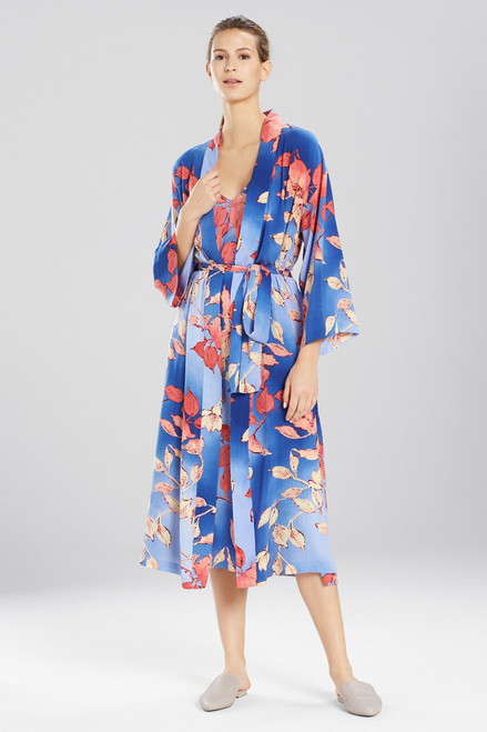 N Natori Ombre Floral Robe at The Natori Company