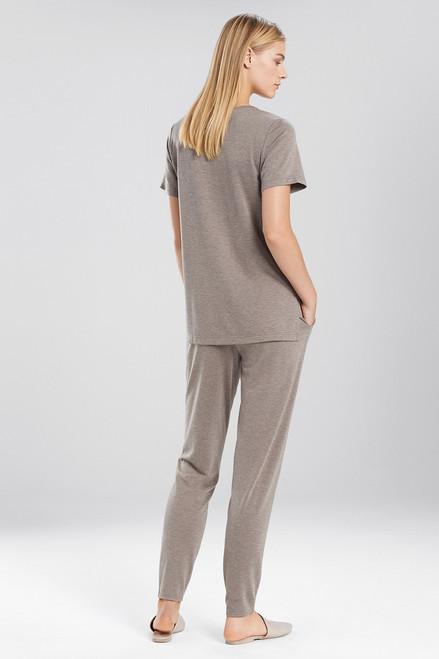 N Natori N-Vious Short Sleeve Top at The Natori Company