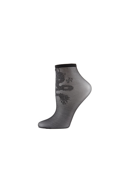 Buy Natori Dragon Sheer Shortie Socks from