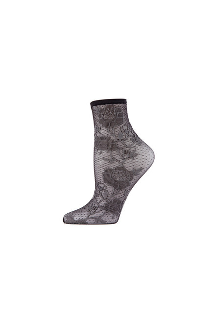 Buy Natori Chantilly Sheer Shortie Socks from