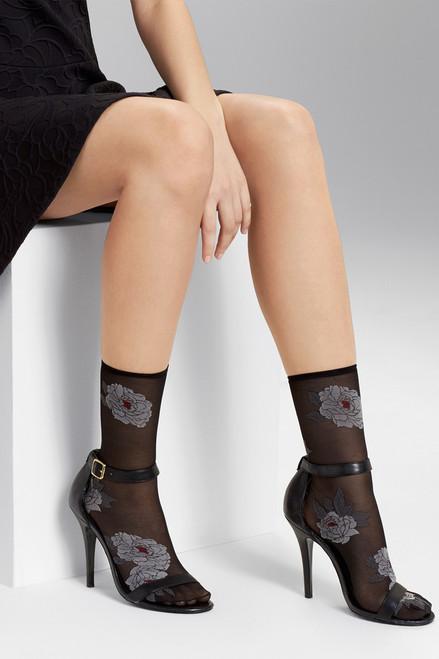Natori Clair De Lune Sheer Socks at The Natori Company