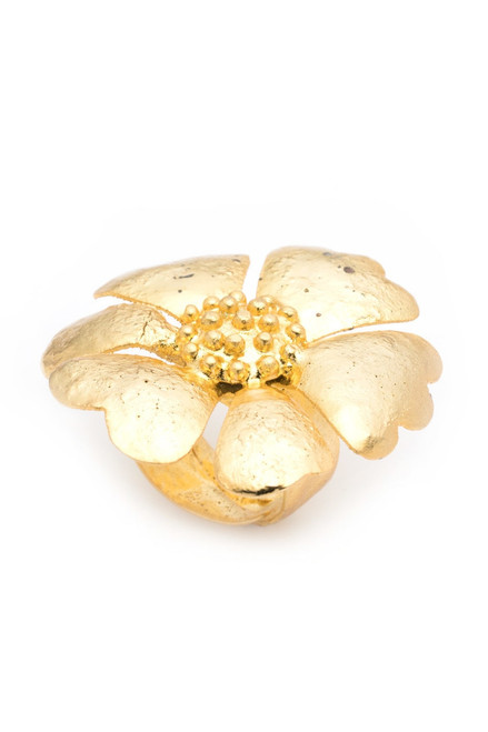 Buy Josie Natori Gold Plated Brass Ring from