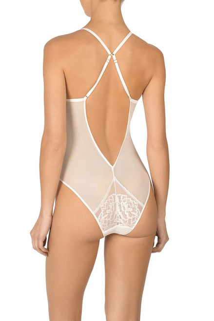 Natori Flora Bodysuit at The Natori Company