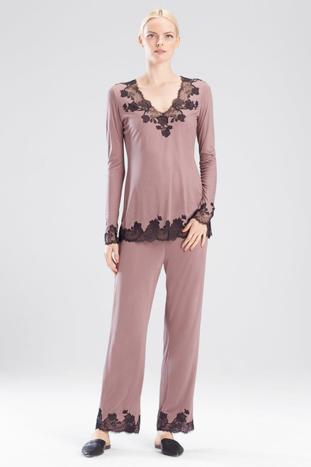 Buy Josie Natori Charlize V-Neck PJ Set from