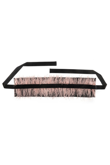 Buy Josie Natori Duchess Satin Belt With Feathers from