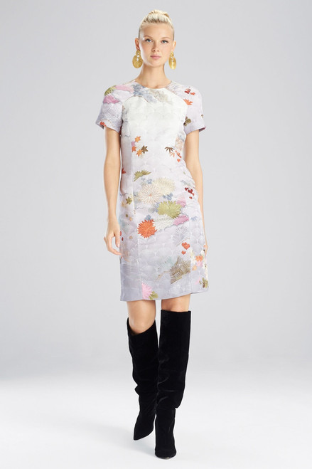 Buy Josie Natori Japonais Jacquard Dress from