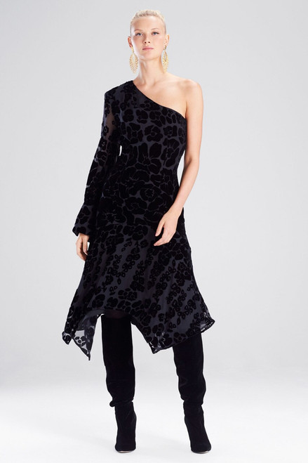 Buy Josie Natori Fallen Floral Burnot Dress from