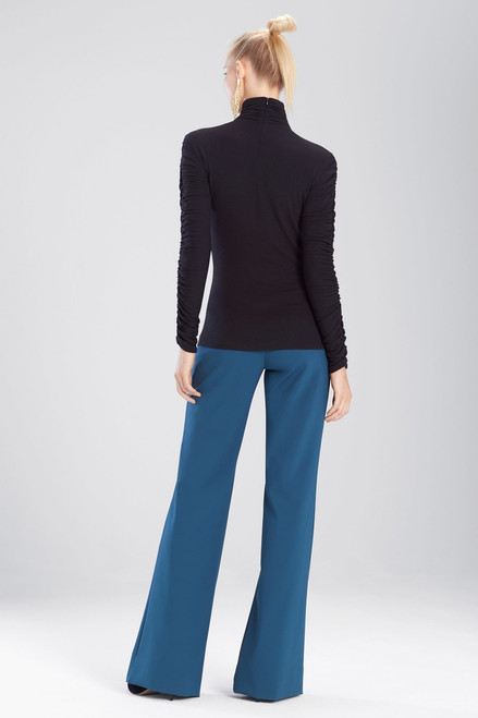 Josie Natori Stretch Knit Sweater at The Natori Company