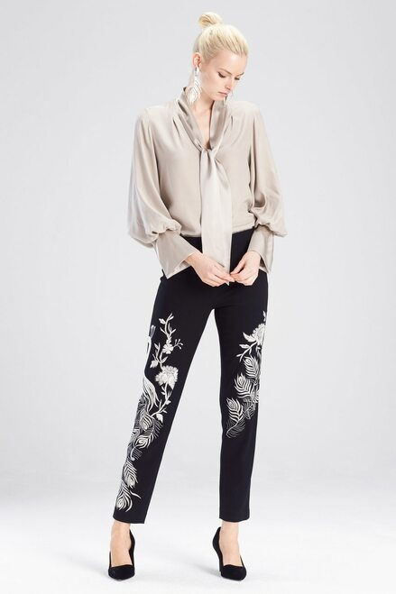 Buy Josie Natori Silk Charmeuse Top from
