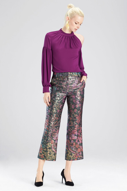 Buy Josie Natori Silky Soft Cold Shoulder Top from