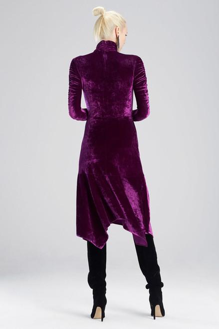 Josie Natori Velvet Skirt at The Natori Company